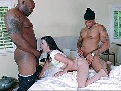 Breaking a white girl